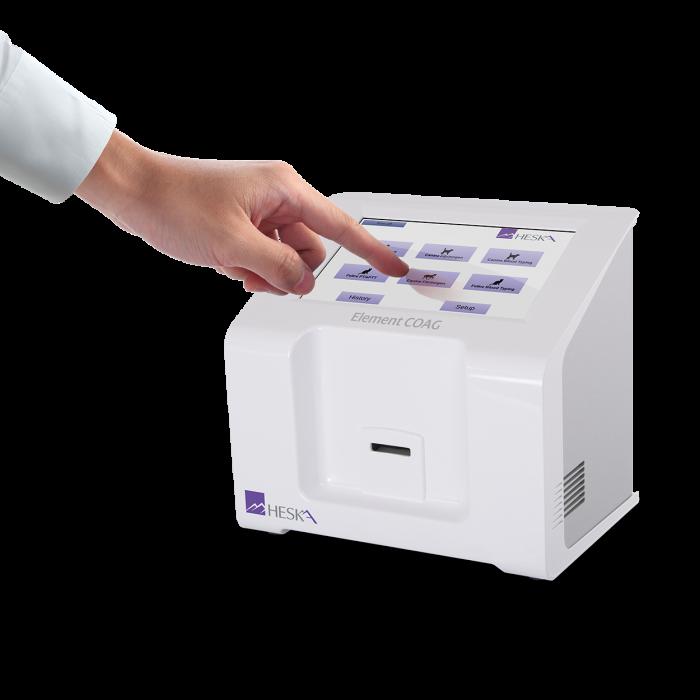 Element COAG Veterinary Analyzer Touchscreen