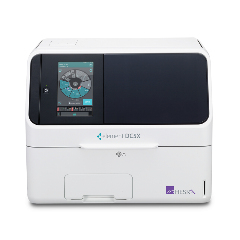 Element DC5X Veterinary Chemistry Analyzer