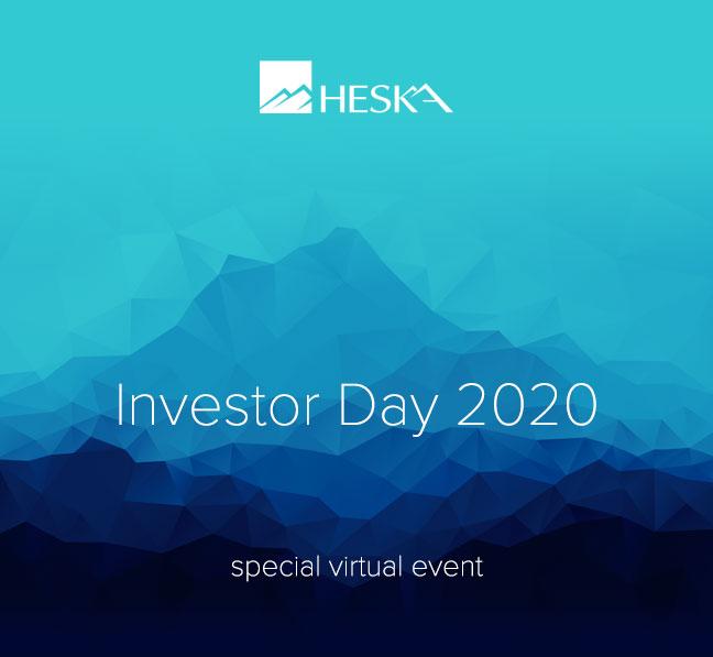 Heska Investor Day 2020 Special Virtual Event